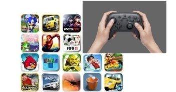Panel de plusieurs jeux disponible gratuitement sur tablette tactile.