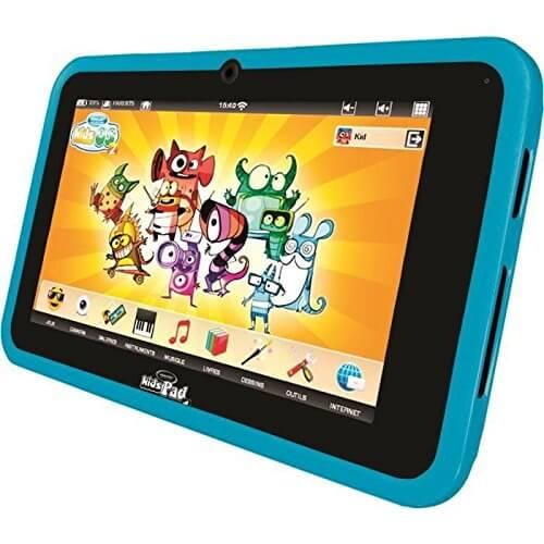 Photo de présentation de la tablette tactile Videojet KidsPad 4.