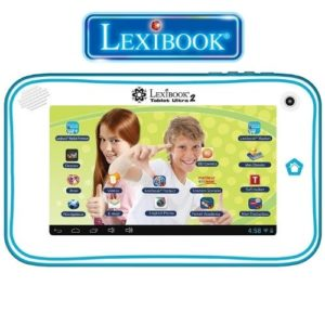 Photo de présentation de la tablette tactile enfant Lexibook.