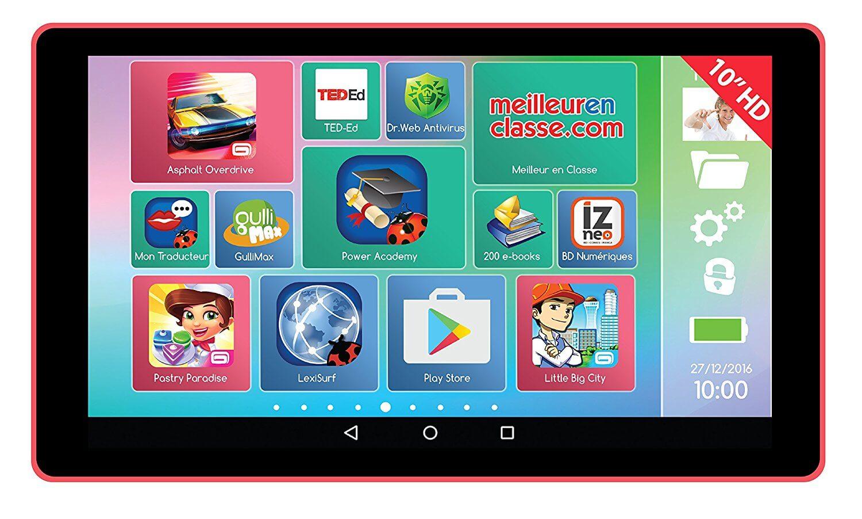 Image de présentation de la tablette Lexitab MFC511.