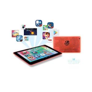 Les composants de la tablette enfant MFC.