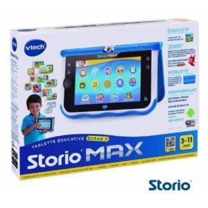 Qu'y a t'il dans le coffret tablette Storio Max 7.