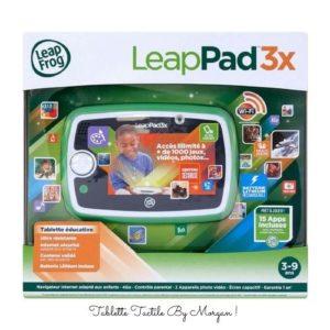 Coffret de la tablette LeapPad3X.