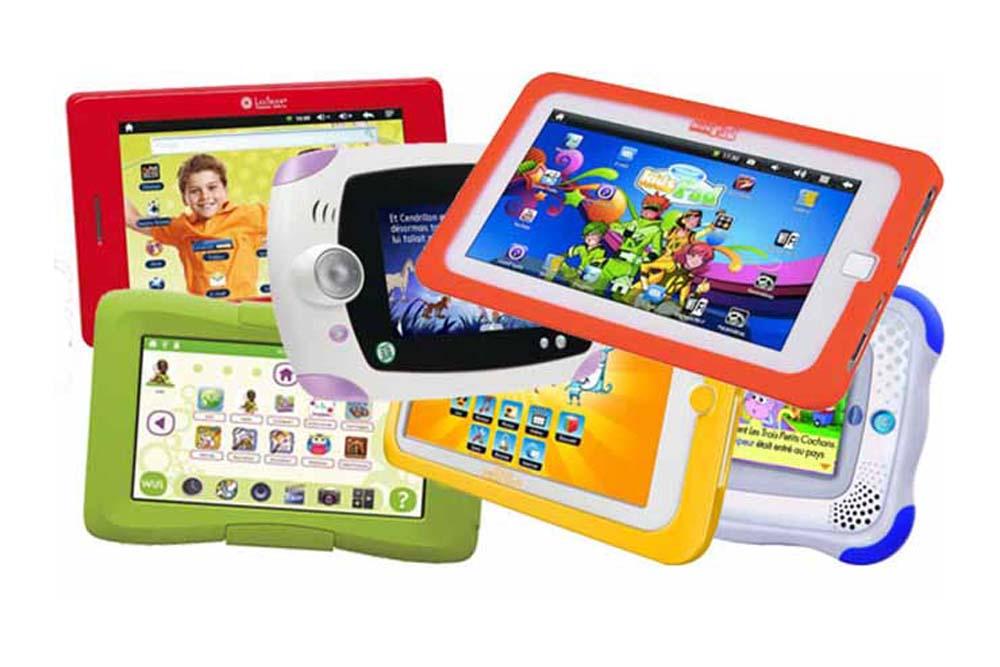 Différentes tablettes éducatives
