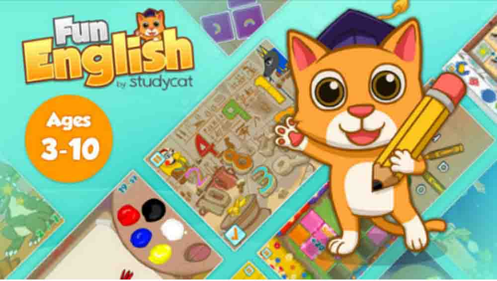 Application tablette Learn English