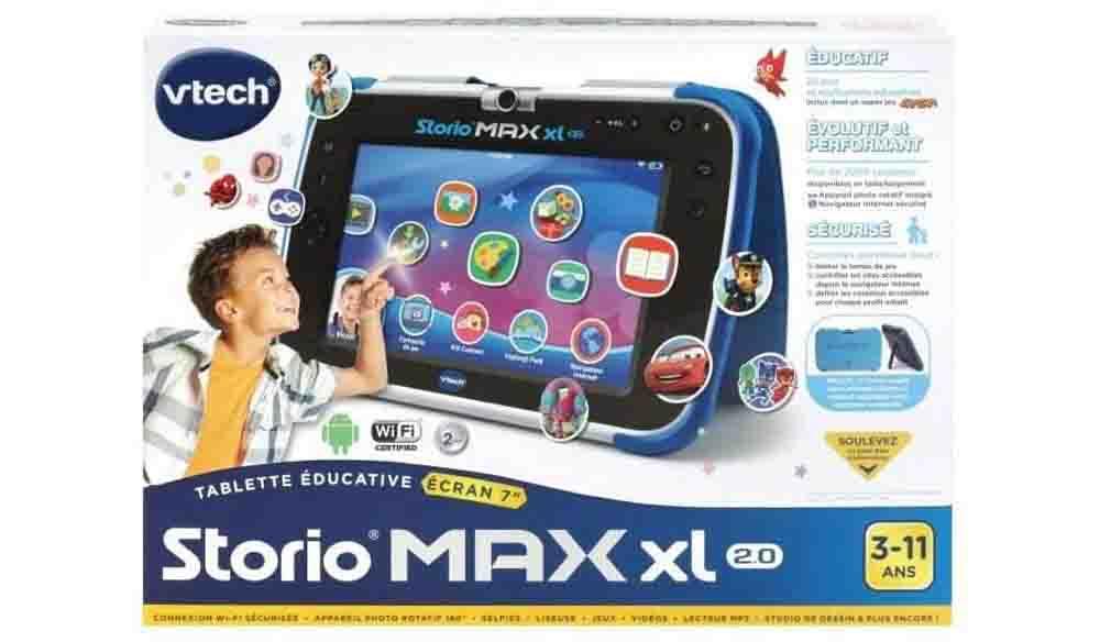 Contenu Storio Max XL