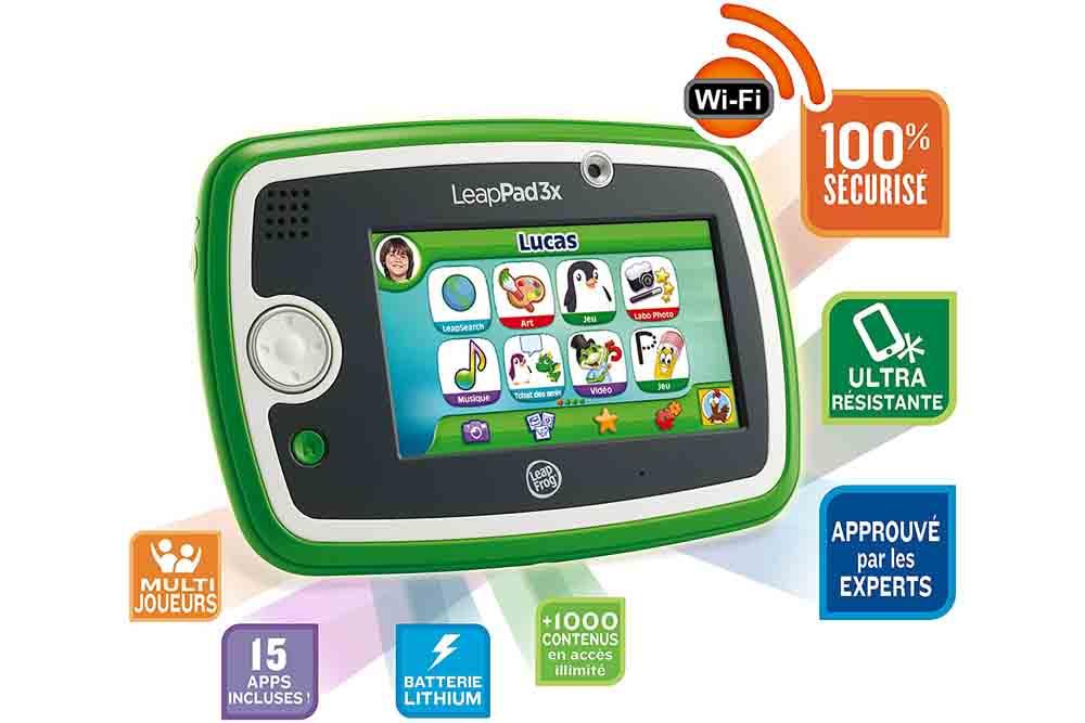 Contenu tablette Leapfrog