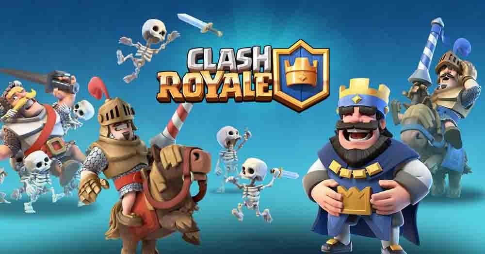 Jeux pour tablette enfant Clash royal