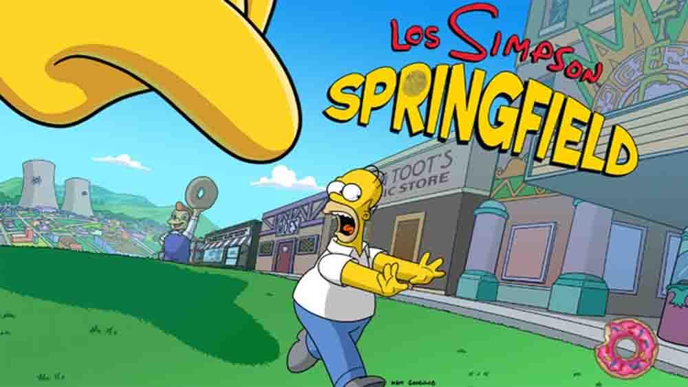 Jeux tablette Simpson