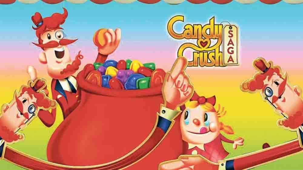 Jeux tablette enfant Candy crush