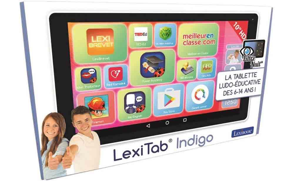 Tablette enfant Lexitab Indigo