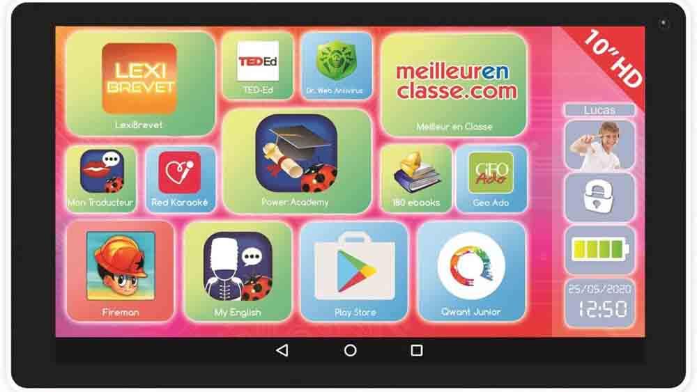 Tablettes éducatives Lexitab Indigo